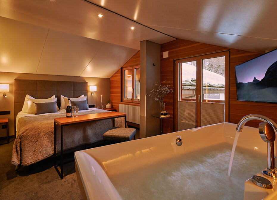 Romantische Junior Suite – Hotel Ambiance Zermatt