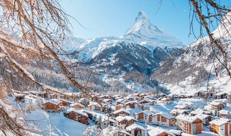 Hotel Ambiance – Sicht auf Matterhorn